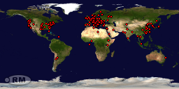 Visitors Map